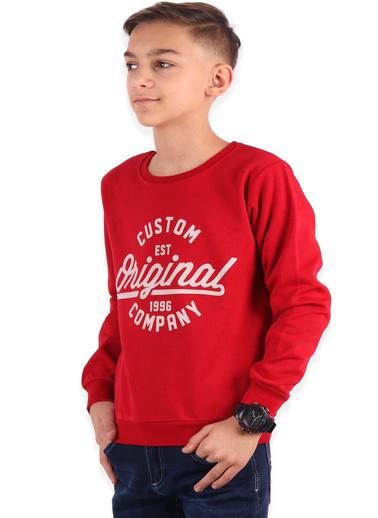 Breeze Sweatshirt Kırmızı